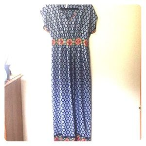 Francesca's maxi dress